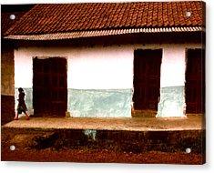 Michoacan Senorita Acrylic Print