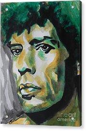 Mick Jagger Acrylic Print by Chrisann Ellis
