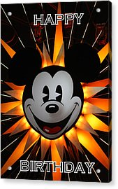 Mickey Mouse Acrylic Print