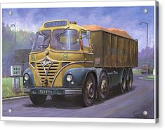Mickey Mouse Foden. Acrylic Print by Mike  Jeffries