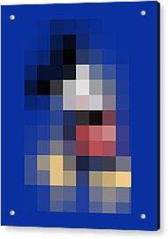 Mickey Mouse Acrylic Print by Tony Rubino