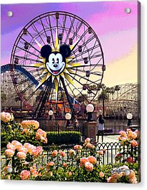 Mickey's Fun Wheel II Acrylic Print