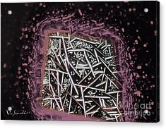Micro Art Coffee Solution 3 Acrylic Print by Vin Kitayama