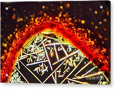Micro Art Coffee Solution 5 Acrylic Print by Vin Kitayama