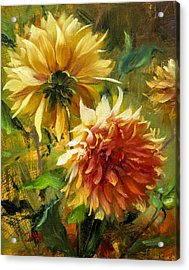 Midas Touch Acrylic Print by Bill Inman