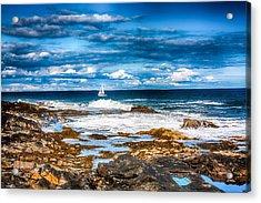 Midday Sail Acrylic Print