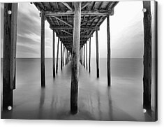 Midday Under The Pier Acrylic Print