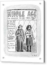 Middle Age The Magazine For You - Yeah Acrylic Print