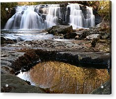 Acrylic Print featuring the photograph Middle Falls On Big Snowbird Creek by Doug McPherson
