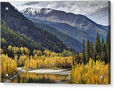 Middle Fork Brillance  Acrylic Print