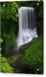 Middle North Falls Acrylic Print