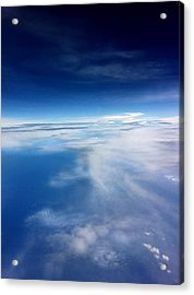 Middle Of Nowhere  Acrylic Print by Shabnam Nassir