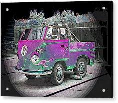 Midget Volkswagon Acrylic Print by Dan Townsend
