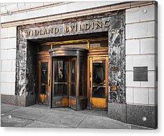 Midland Building Acrylic Print