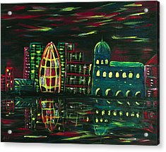 Midnight City Acrylic Print