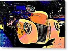 Midnight Driver Acrylic Print