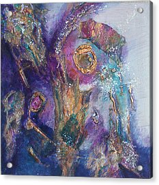 Midnight In The Enchanted Forest Acrylic Print