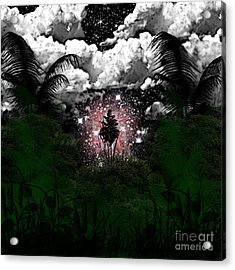 Midnight In The Wild Acrylic Print