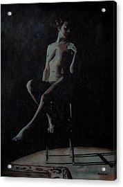Midnight Acrylic Print by Jo King
