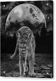 Midnight Patrol Acrylic Print