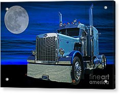 Midnight Peterbilt Acrylic Print