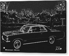 Midnight Rider Acrylic Print