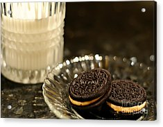 Midnight Snack Acrylic Print by Lois Bryan