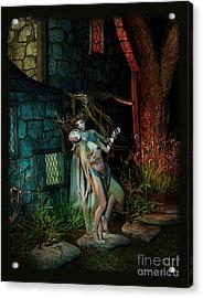 Midnight Visitor Acrylic Print