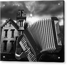 Zydeco Blues Acrylic Print by Larry Butterworth