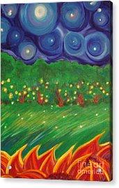Midsummer By Jrr Acrylic Print by First Star Art