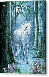 Acrylic Print featuring the painting Midsummer Dream by Terry Webb Harshman