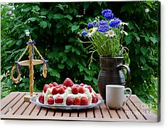Midsummer Table Acrylic Print