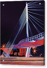 Midtown Greenway Sabo Bridge Acrylic Print by Jude Labuszewski