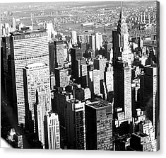 Midtown Manhattan 1972 Acrylic Print