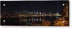 Midtown Manhattan To The Tribute Lights Acrylic Print