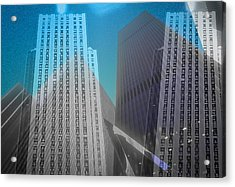 Midtown Sections Acrylic Print