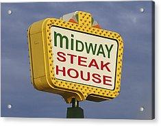 Midway Seaside Heights Boardwalk Nj Acrylic Print