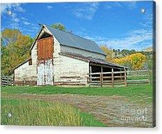 Midway Vintage Barn Hotchkiss Co Acrylic Print