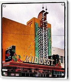Midwest Theater  Scottsbluff Ne Acrylic Print