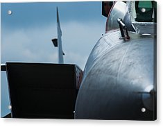 Mig-31 Interceptor Acrylic Print by Alexander Senin