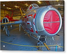 MIG Acrylic Print by Gregory Dyer