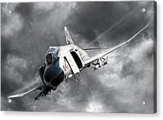 Mig Killer 2 Acrylic Print by Peter Chilelli