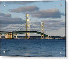 Mighty Mac In December Acrylic Print