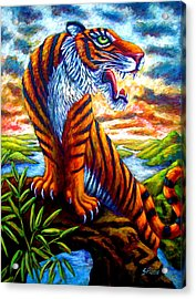 Mighty Tigress Acrylic Print