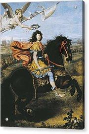 Mignard, Pierre 1612-1695. Equestrian Acrylic Print by Everett