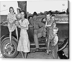 Migrant Workers, 1939 Acrylic Print by Granger