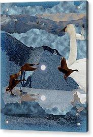 Migrations Acrylic Print