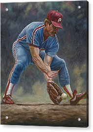 Mike Schmidt Acrylic Print by Gregory Perillo
