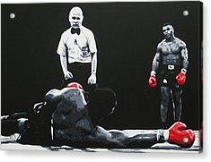 Mike Tyson 3 Acrylic Print