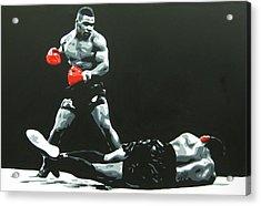 Mike Tyson 5 Acrylic Print